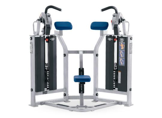 Maszyna do treningu bicepsów z dwoma stosami