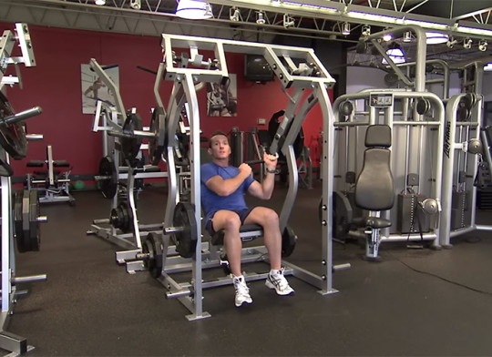Maszyna Iso-Lateral Shoulder Press